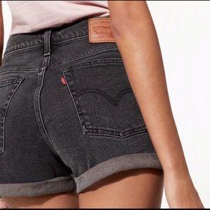 Levi High Wasted Denim Shorts